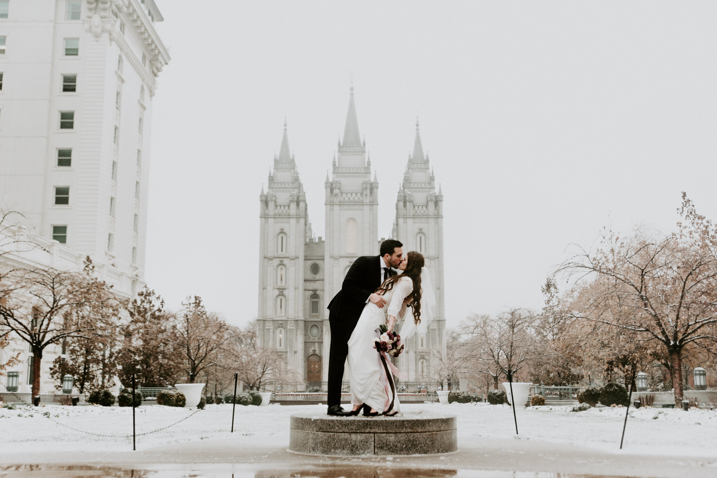 SLC Temple Bridals