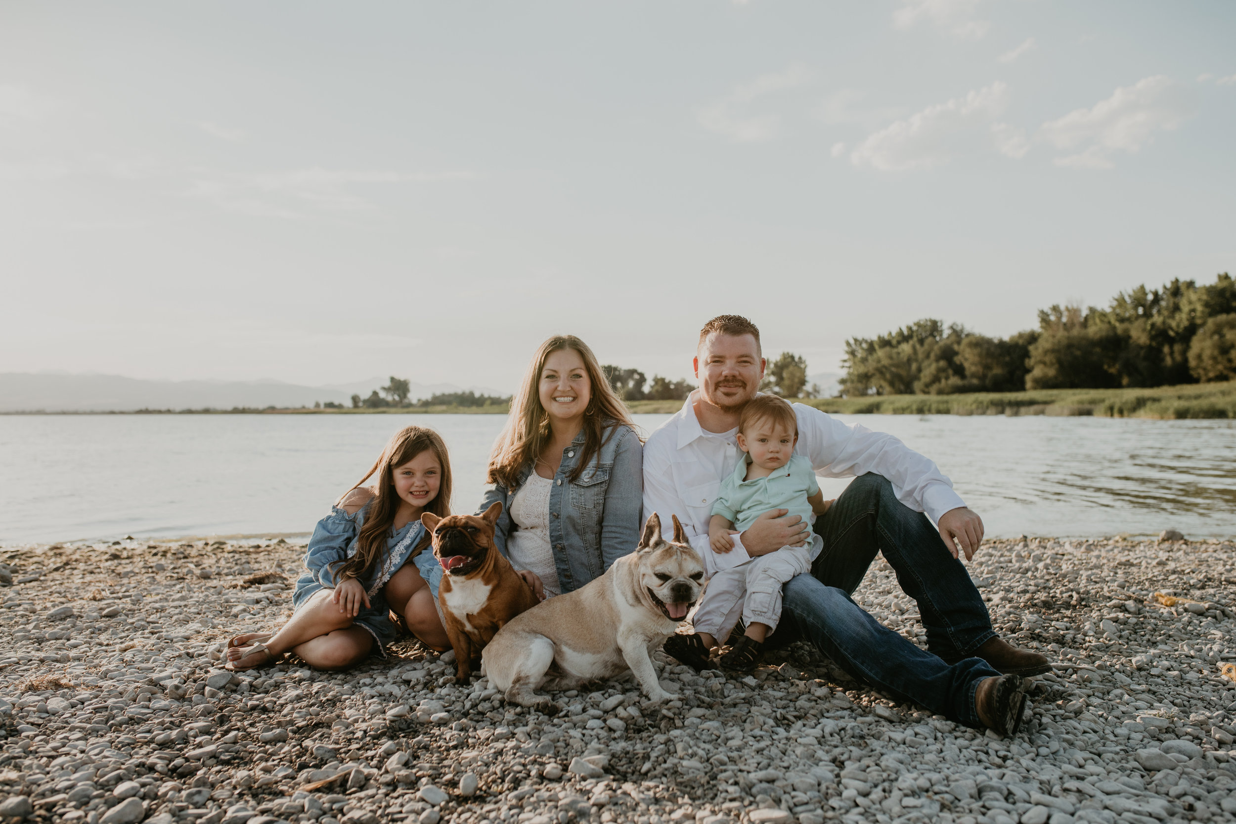 Utah Lake Family Portraits