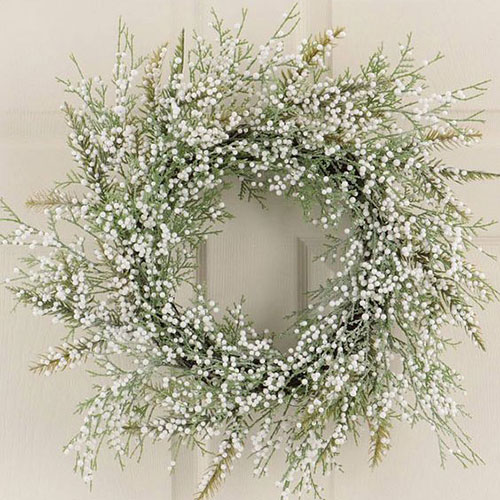 Baby's Breath Wreath from  Good Housekeeping Magazine