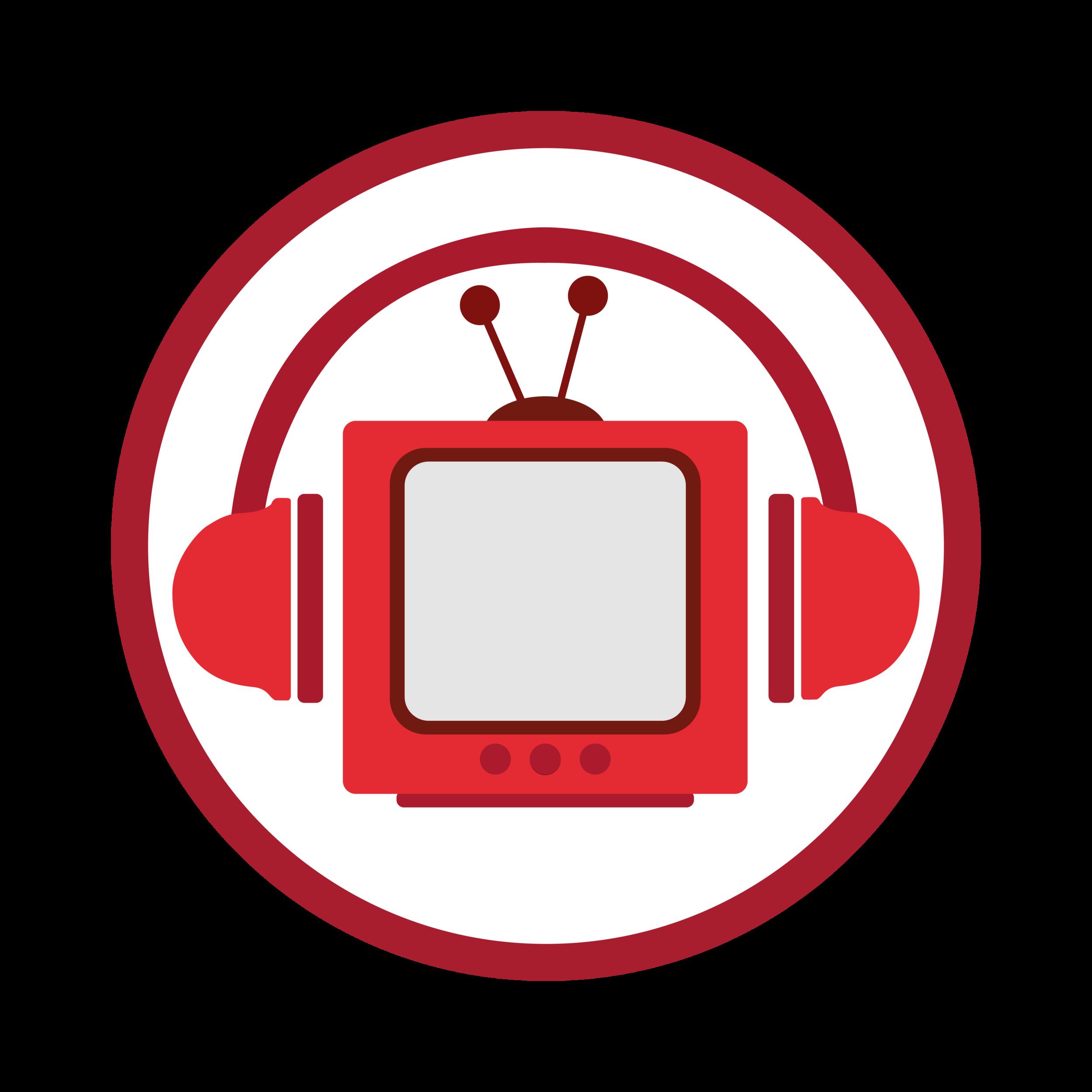 TV with headphones