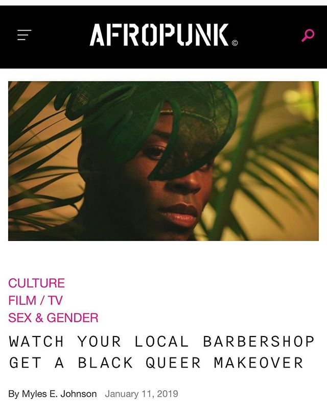 My film Buzzed is getting some buzz on @afropunk An amazing write up by a black Queer writer I've admired for awhile @hausmuva I am so thankful for this! Thank you so much for the love. #blackfilmmakers #queerfilmmakers #gay #gay #andgay