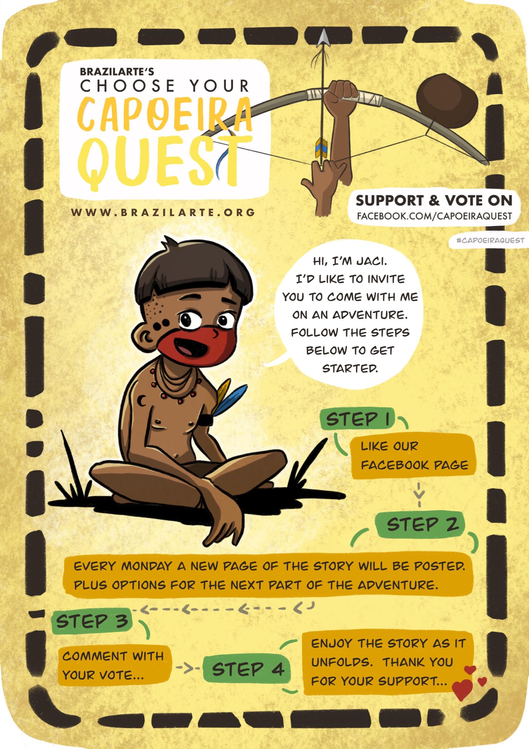 Capoeira Quest Comic
