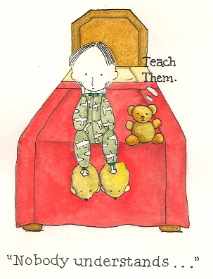 Illustration by Jennifer Paros - Copyright 2009