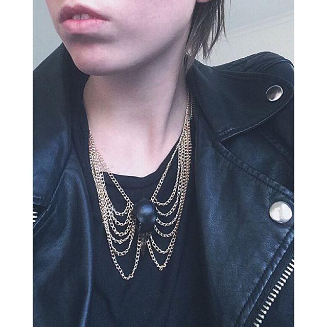 black pigeon bib necklace.jpg