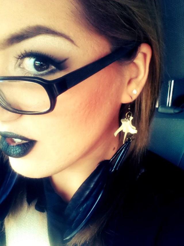 vertebrae feather earrings.jpg