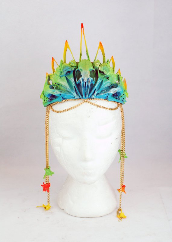 Neon Bone Decoupage Headpiece.jpg