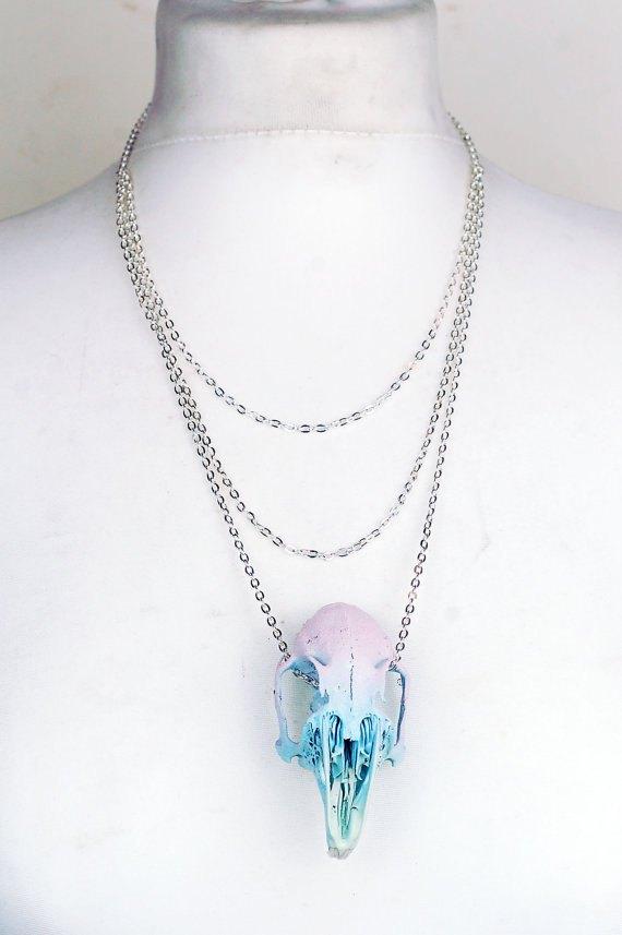 Pastel Rabbit Skull Necklace.jpg