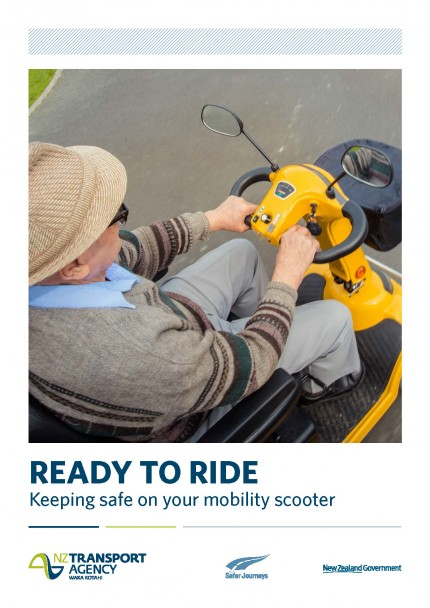 Keeping Mobile - how to safely use your mobility scooter   - NZ Transport Agency