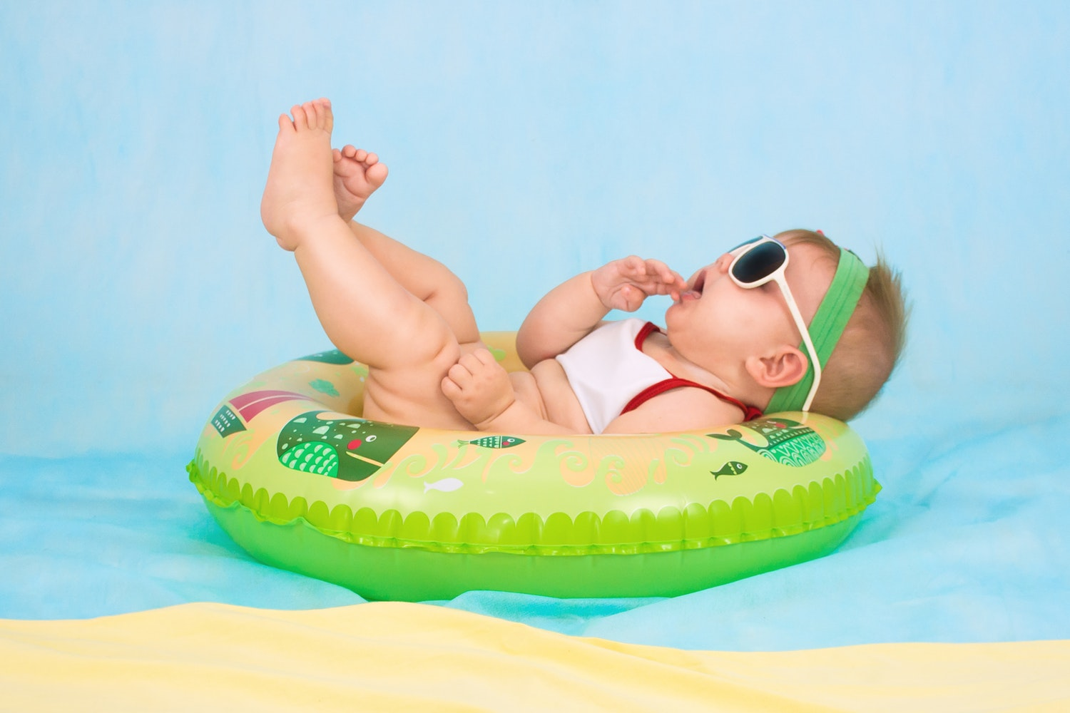 How to keep your newborn safe during summer weather.