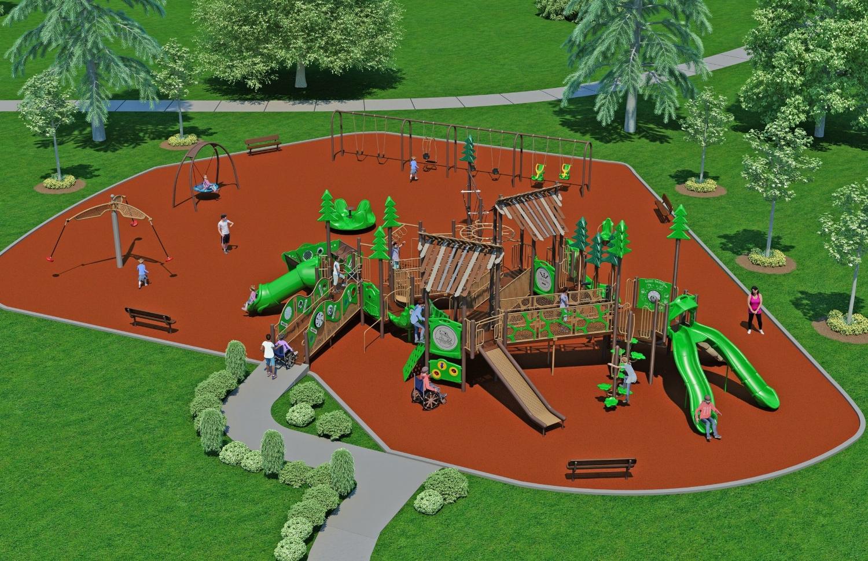 Harmony Park Project Proposed Design - Rollingbrook Park