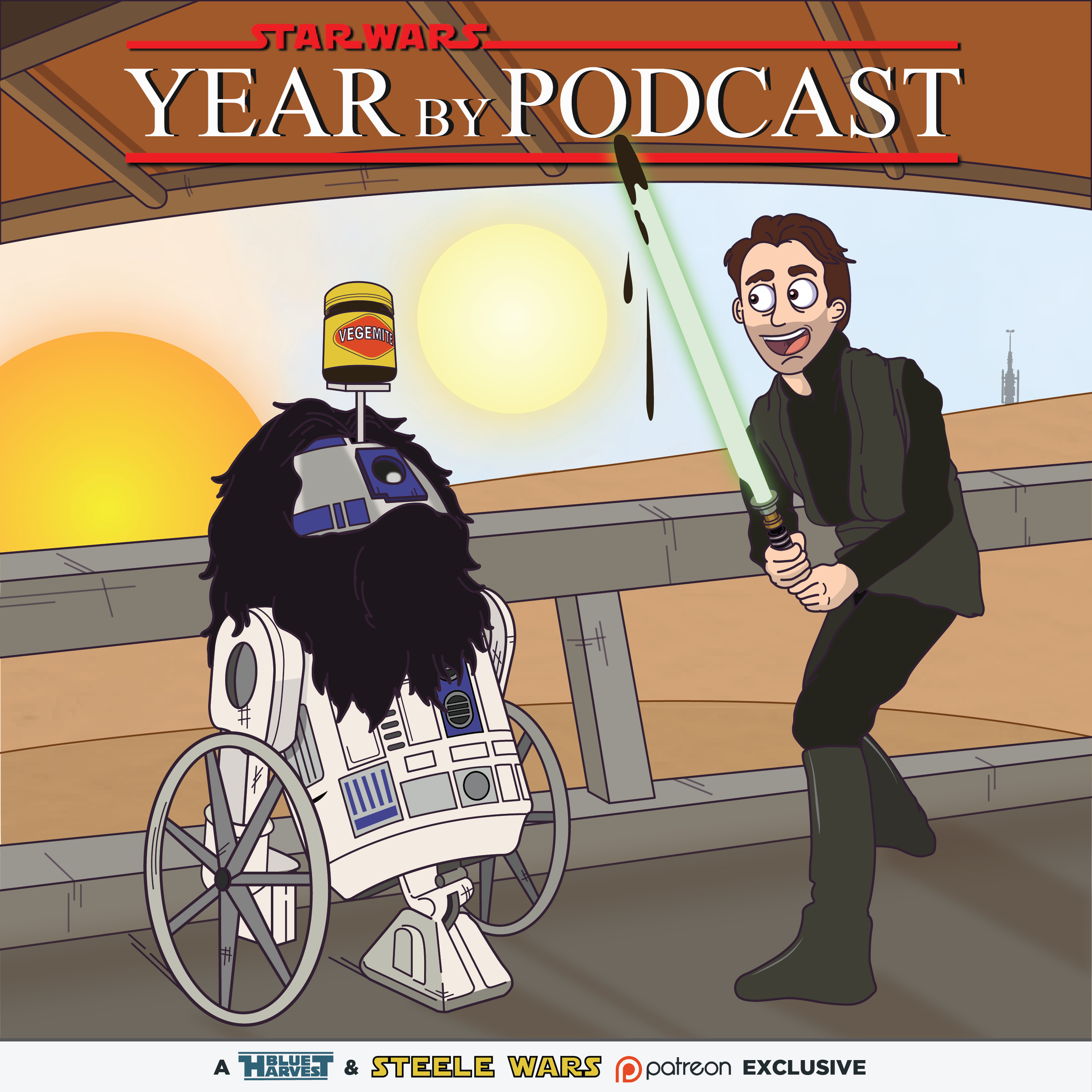 """STAR WARS: YEAR BY PODCAST"""