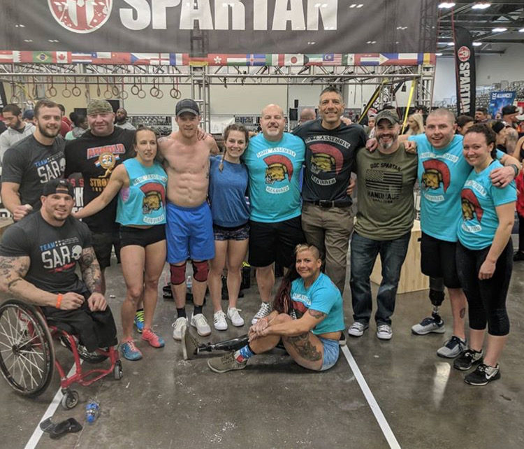 Team SAR 2017, Arnold Sports Festival - Affiliate Gathering