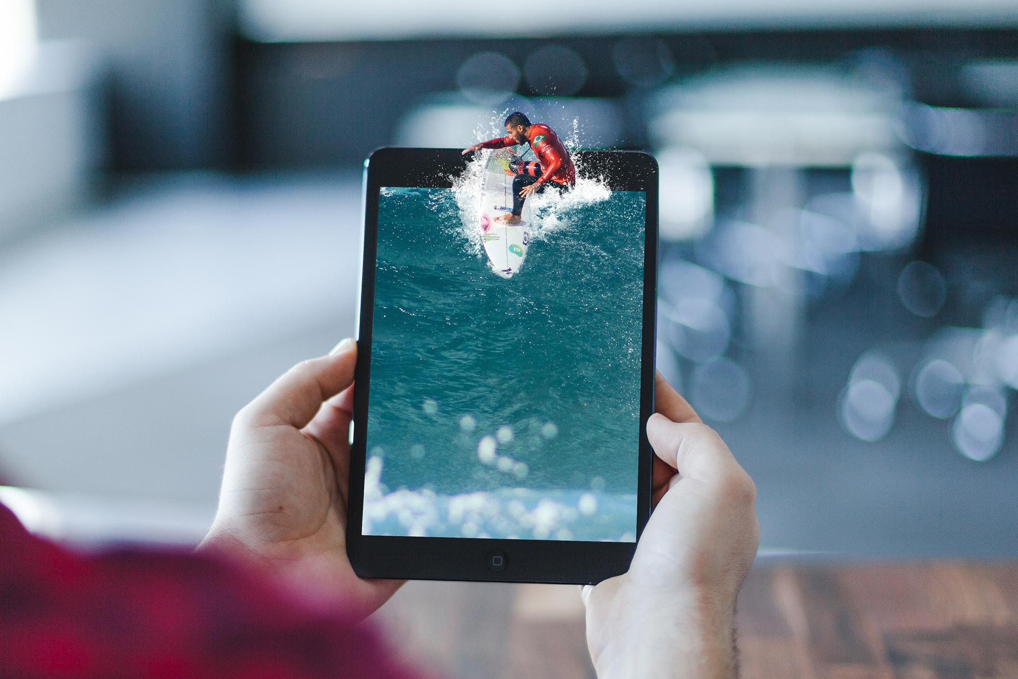 iPAD SURFER   COMPOSITE