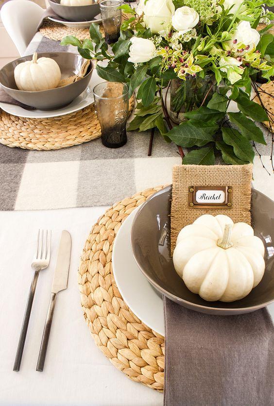 Para decorar la mesa