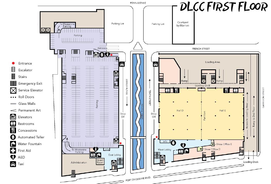 DLCC 1st Floor