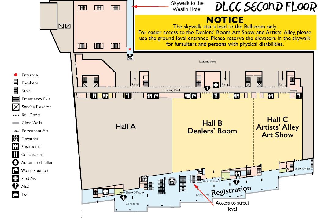 DLCC 2nd Floor