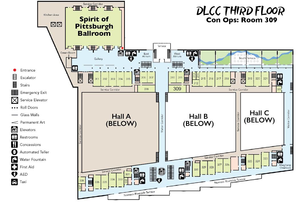 DLCC 3rd Floor