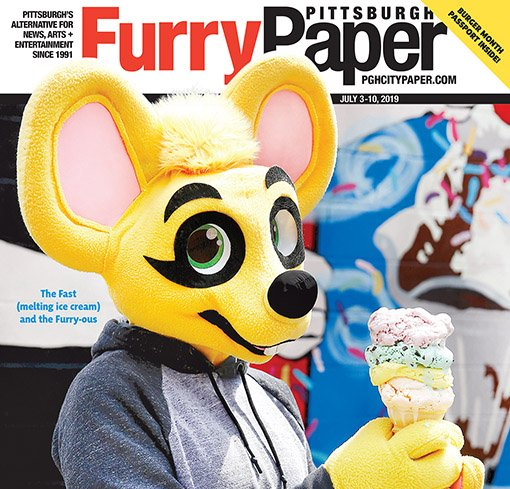 "The Pittsburgh City Paper also became "" The Pittsburgh Furry Paper "" for the week. ( Read it online here )"