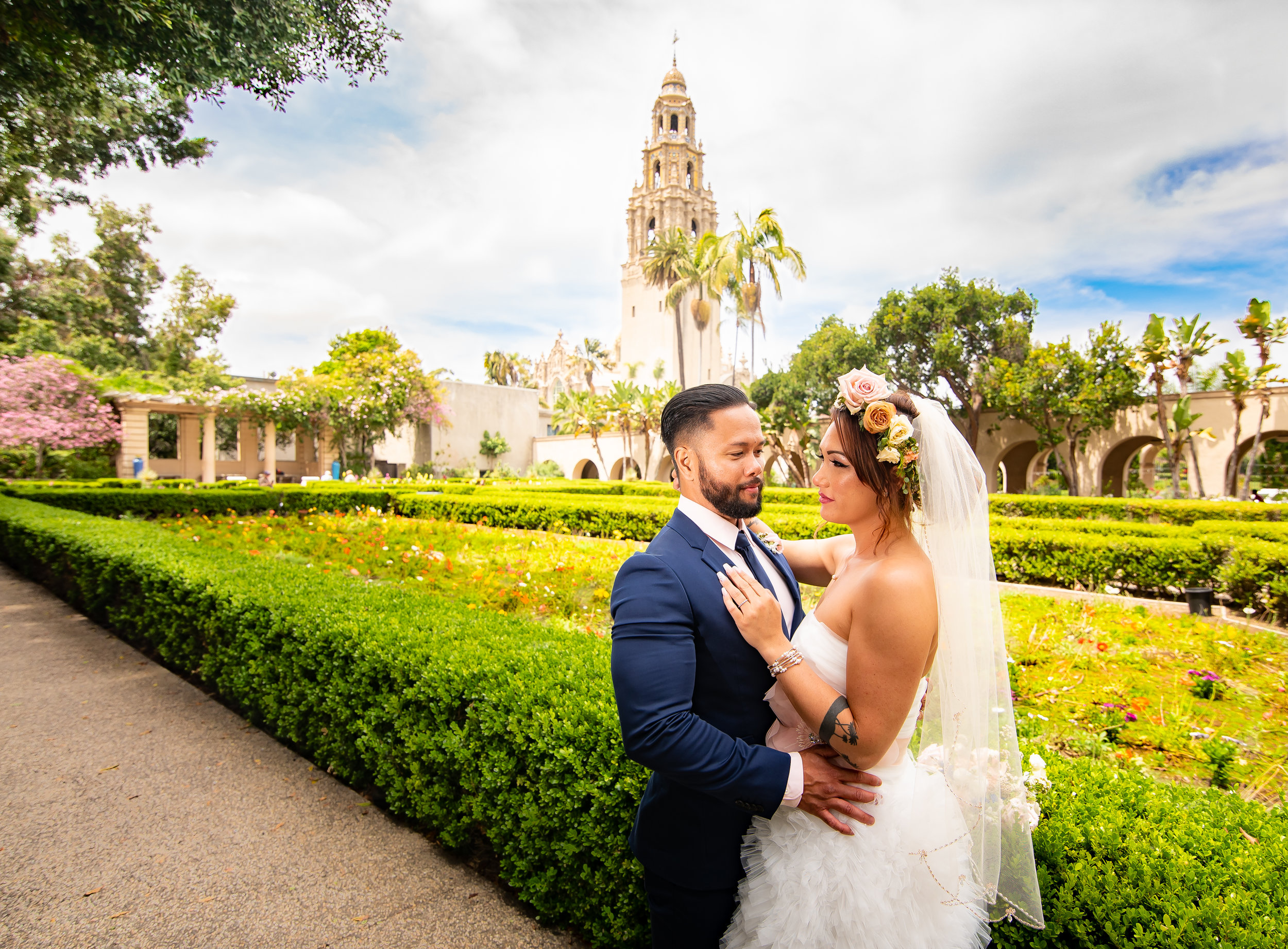 Add Balboa Park - Use for Engagement PhotosorAfter Your Wedding CeremonyIncludes:1 Hour Session + Outfit Change$120 (Normally $250)Digital Images purchased separately at $20 each (Normally $50)*Not a stand alone