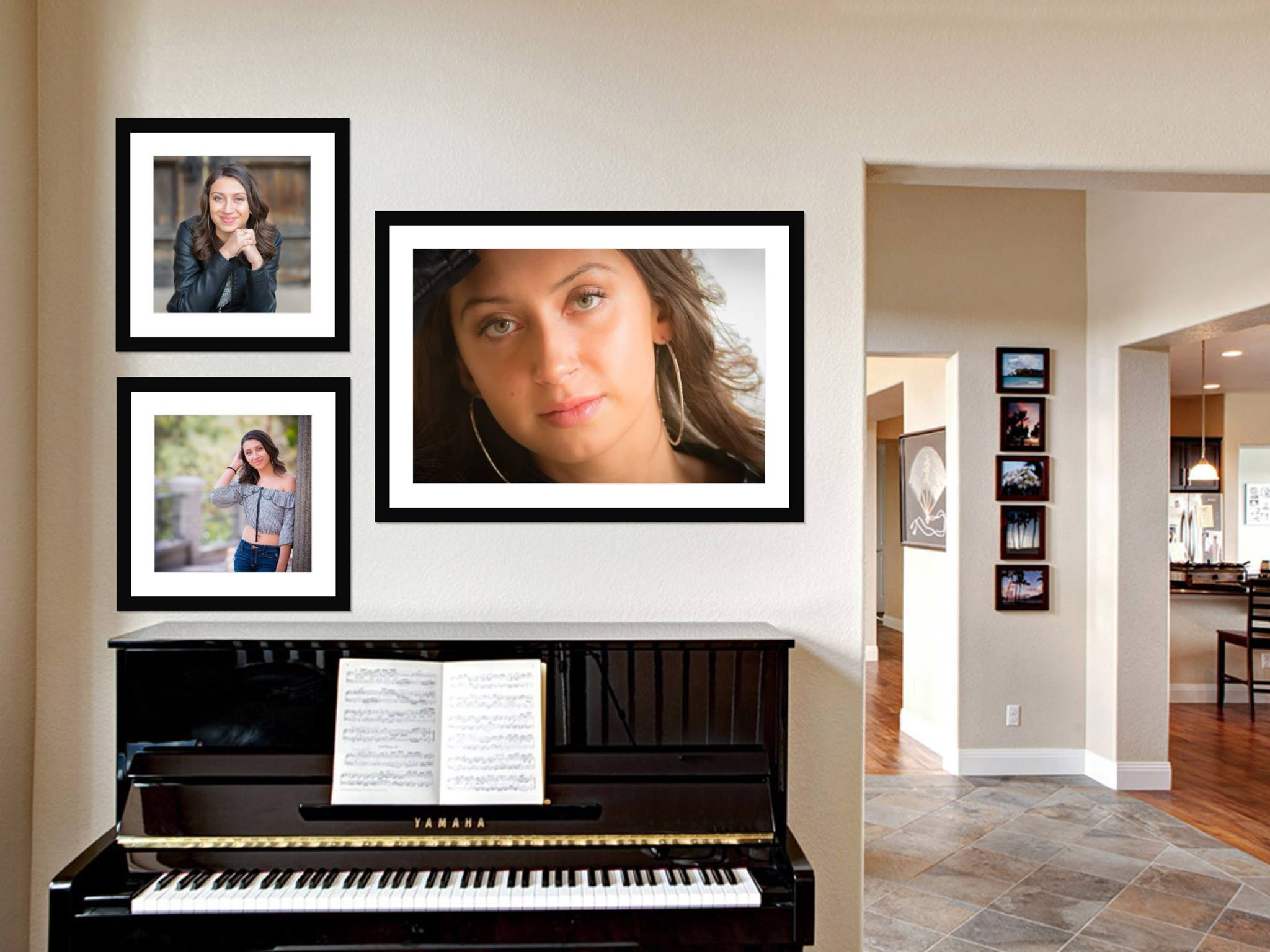 Wall Art + Folio - One 16x24 Wall PortraitTwo 11x14 Wall Portraits10 Portraits16 Digital Files + USB Drive$1,690* (Normally $3,129)Framing is extra, not included
