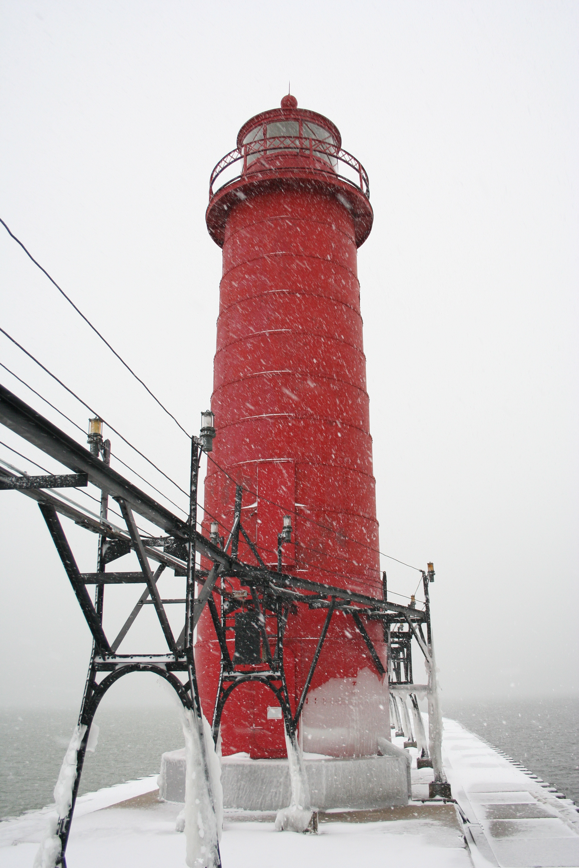 the round lighthouse