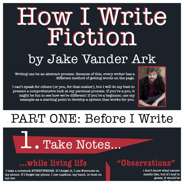 How I Write Fiction