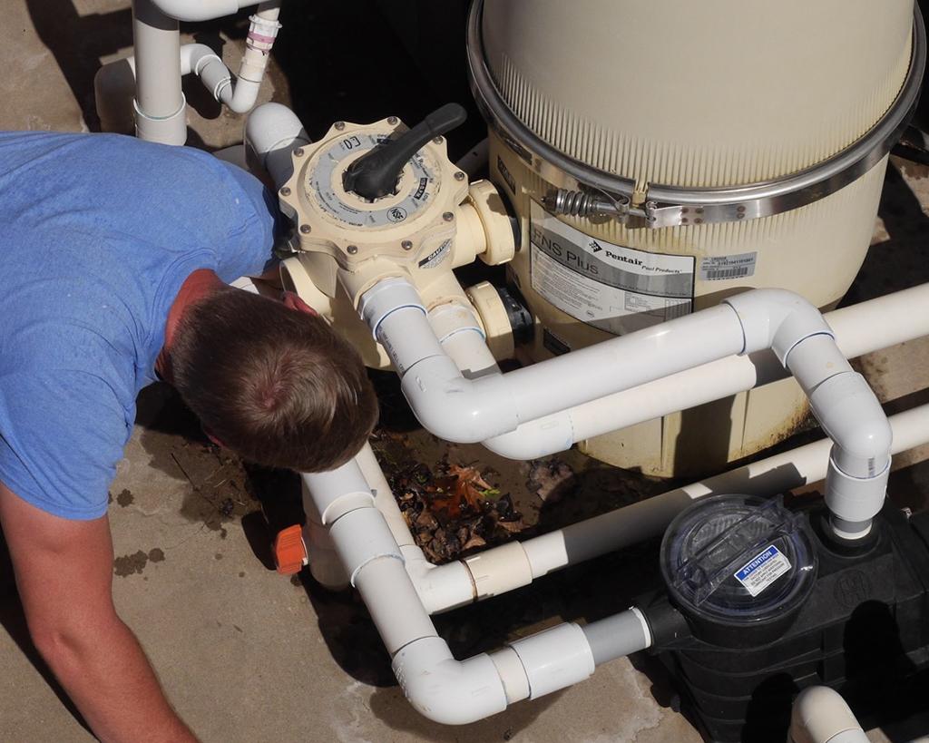 Pool Pump Repair & Install