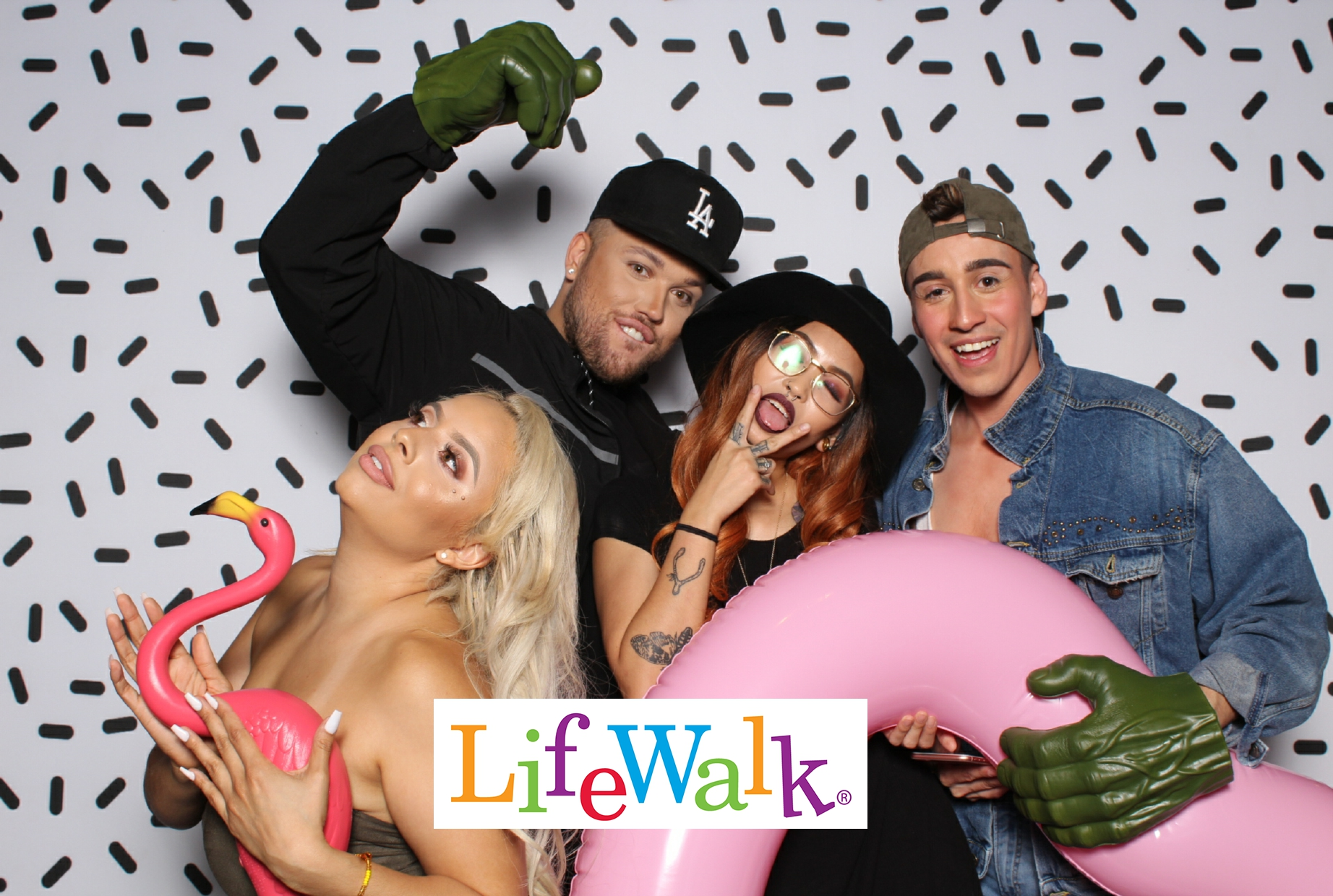 life walk photo booth dallas