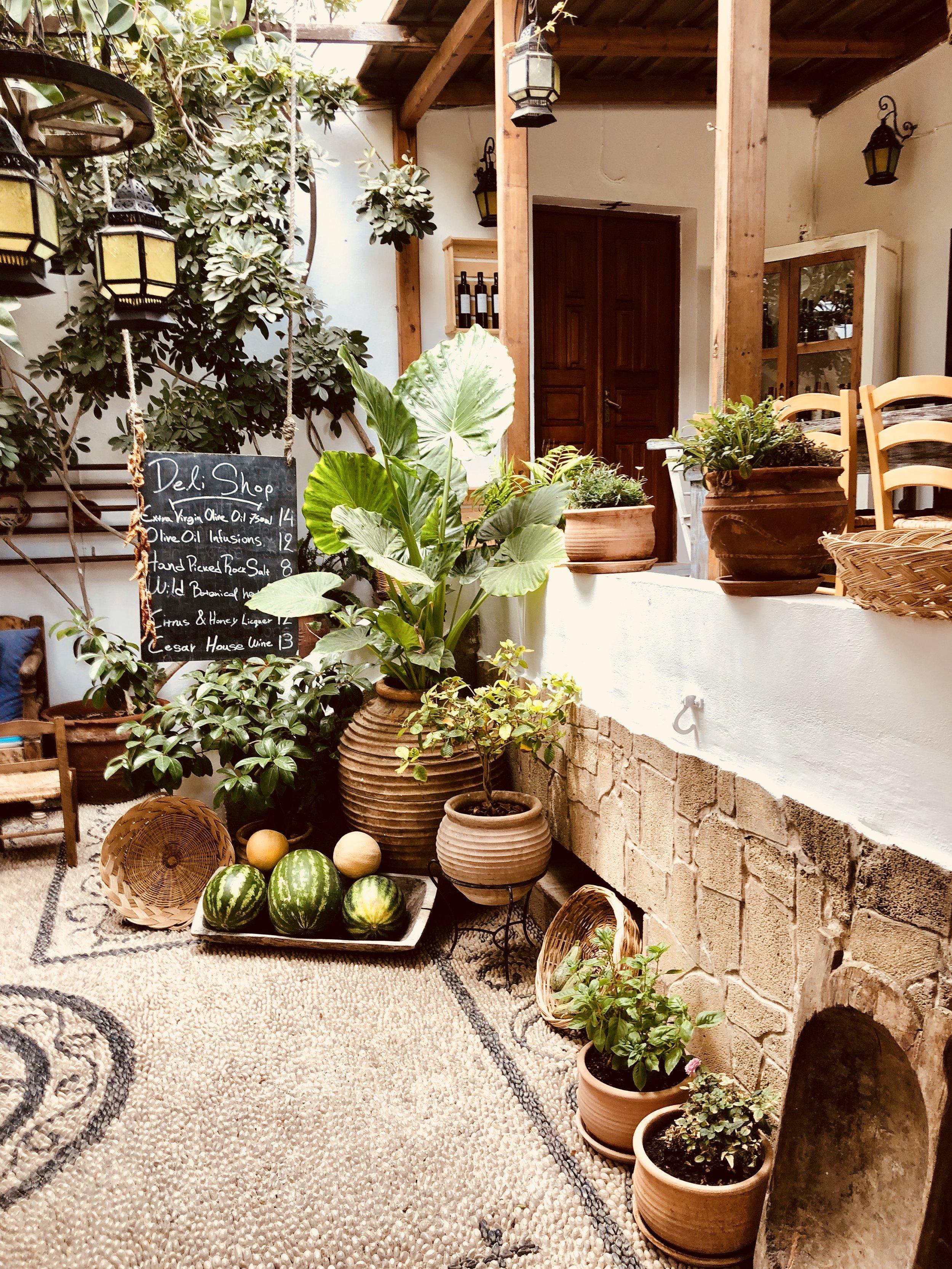 The market place - Rhodes, Greece