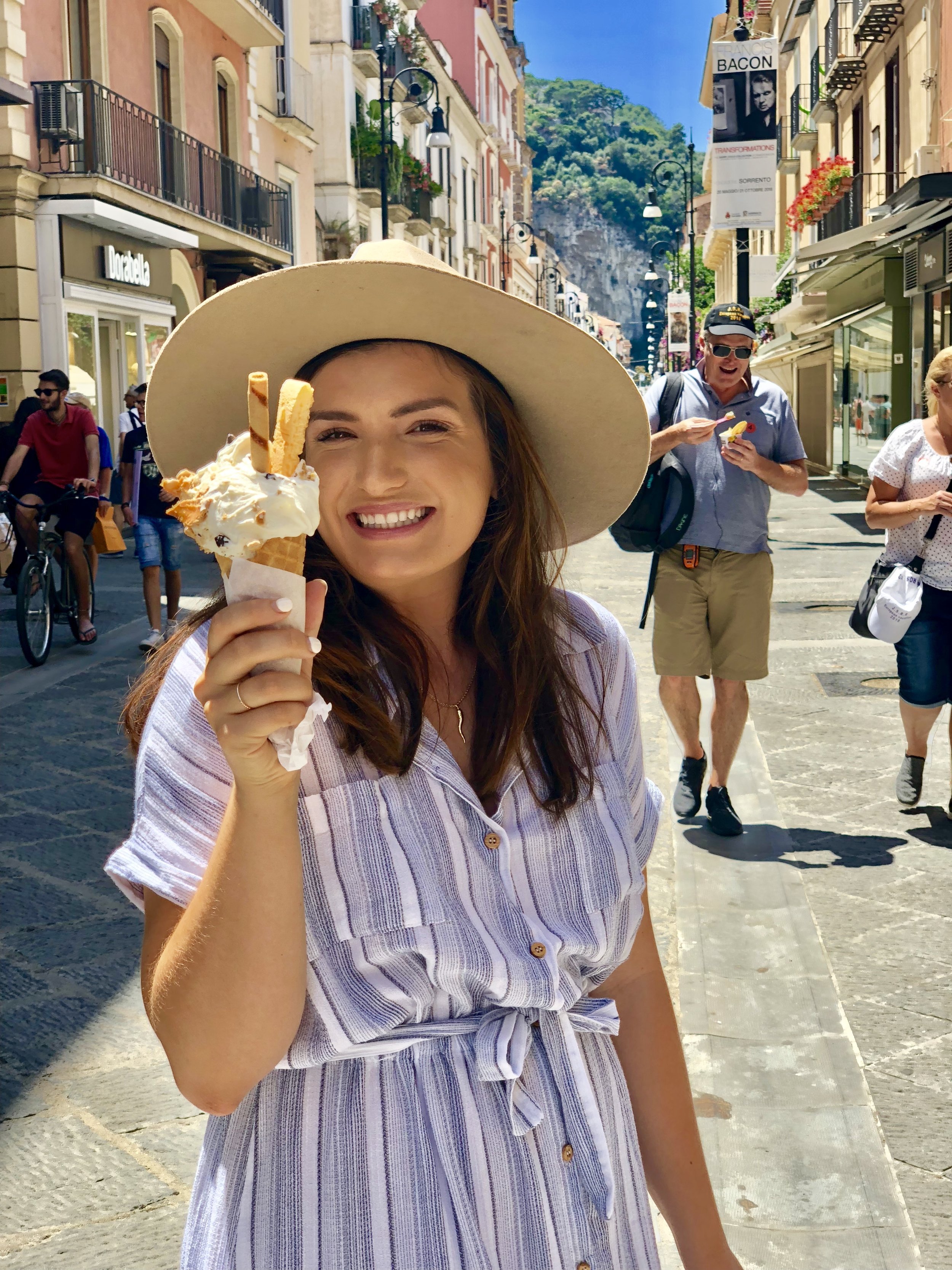 Gelato at every stop, of course :)