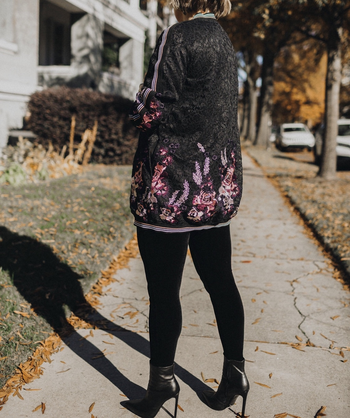 The perfect length to layer with all your favorite pieces, and look at those back details!