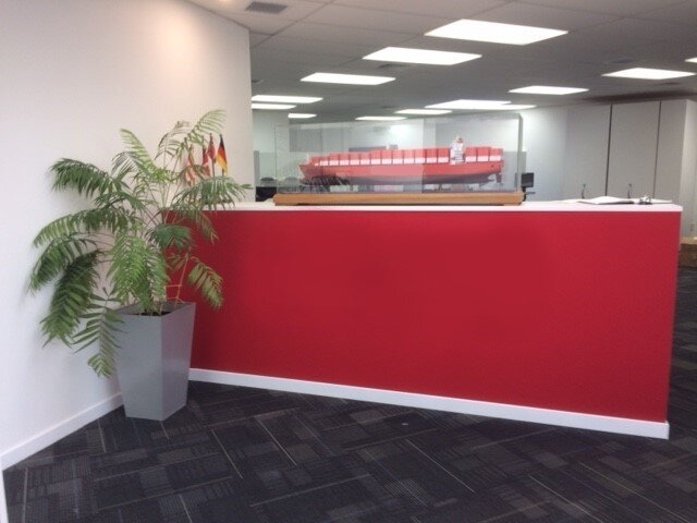 Red reception desk...jpg