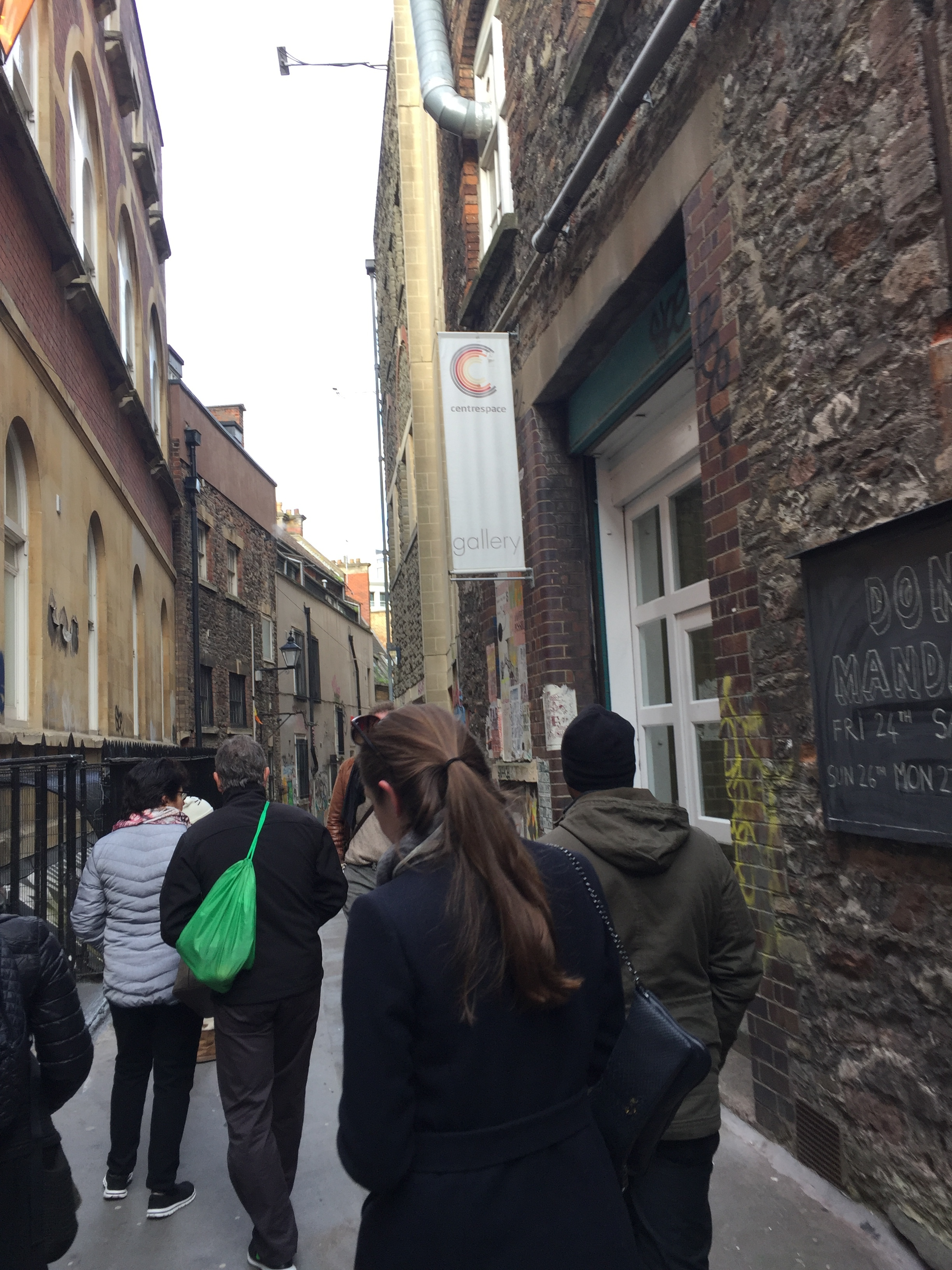 Walking down a 1,000-year-old street