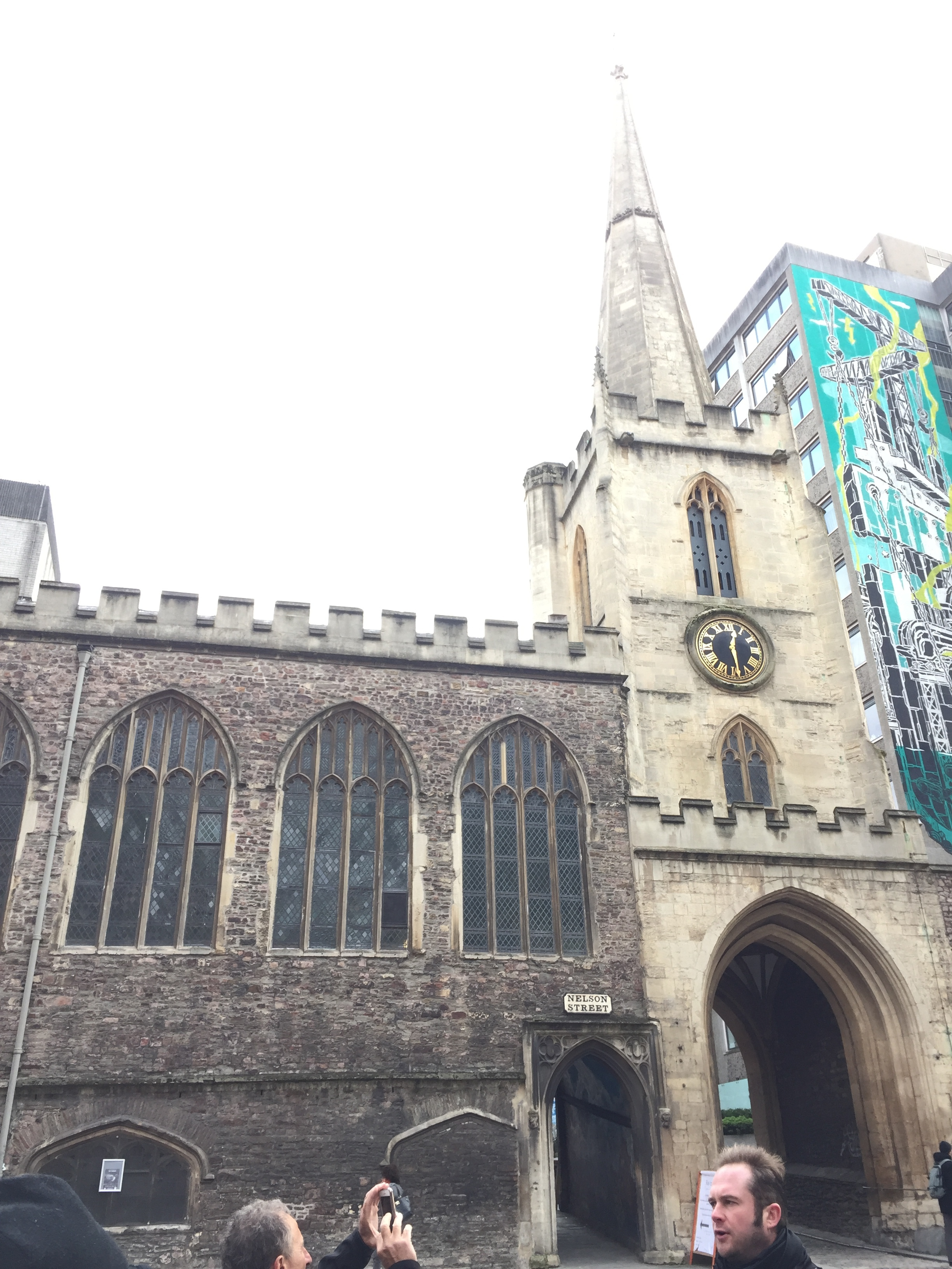 The only preserved medieval archway left in Bristol