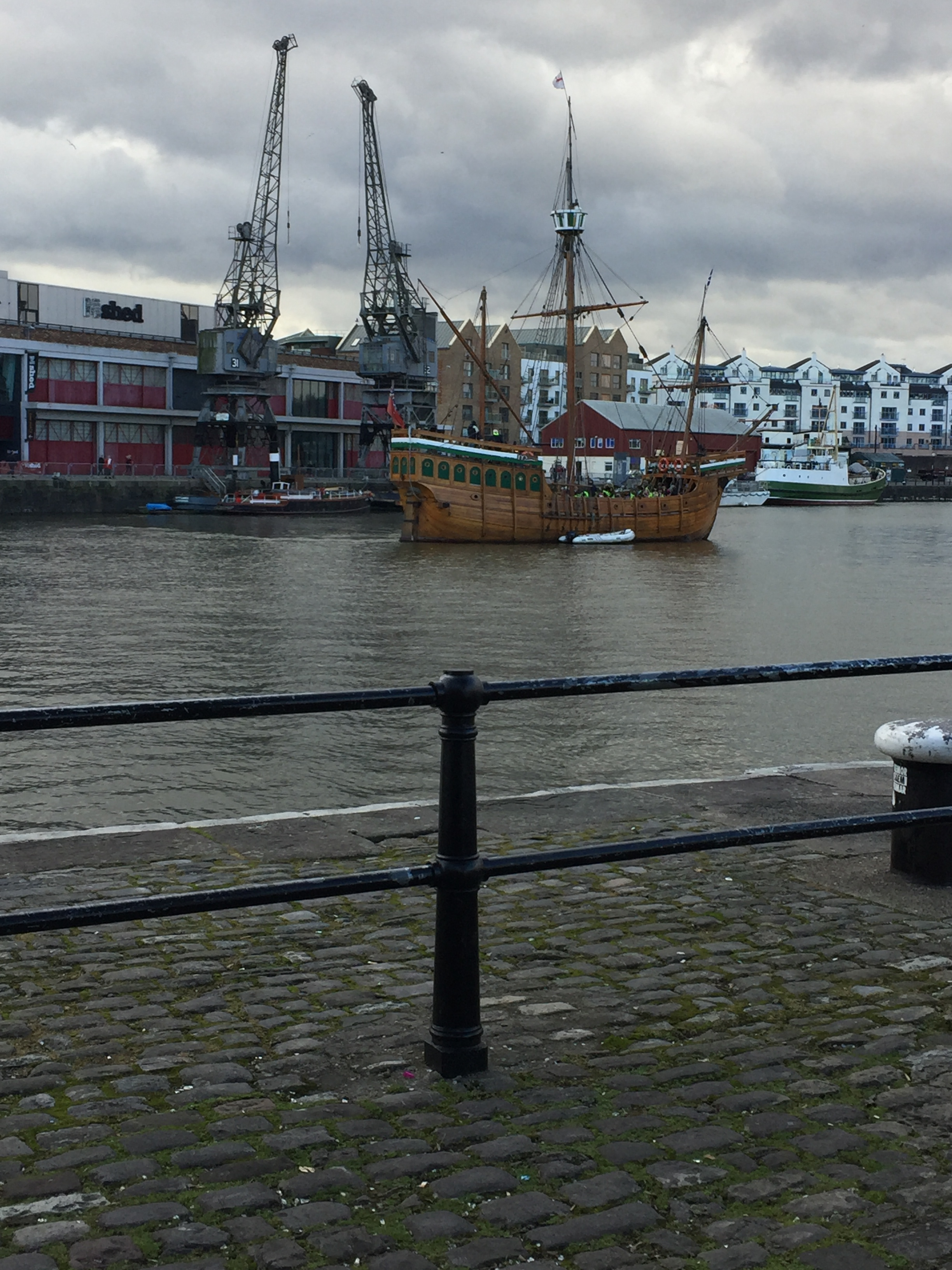 A replica of the ship that John Cabot sailed across the Atlantic.