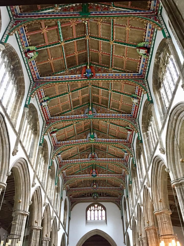 Inside St. Cuthbert's