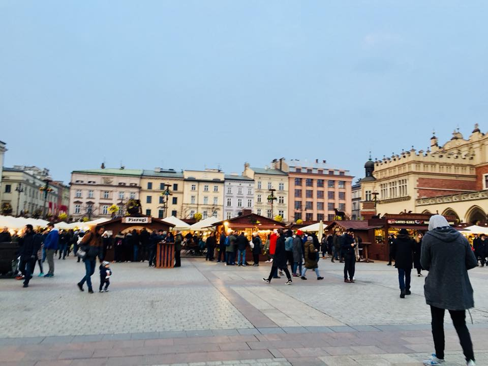 The Easter Market in Old Town Market Square