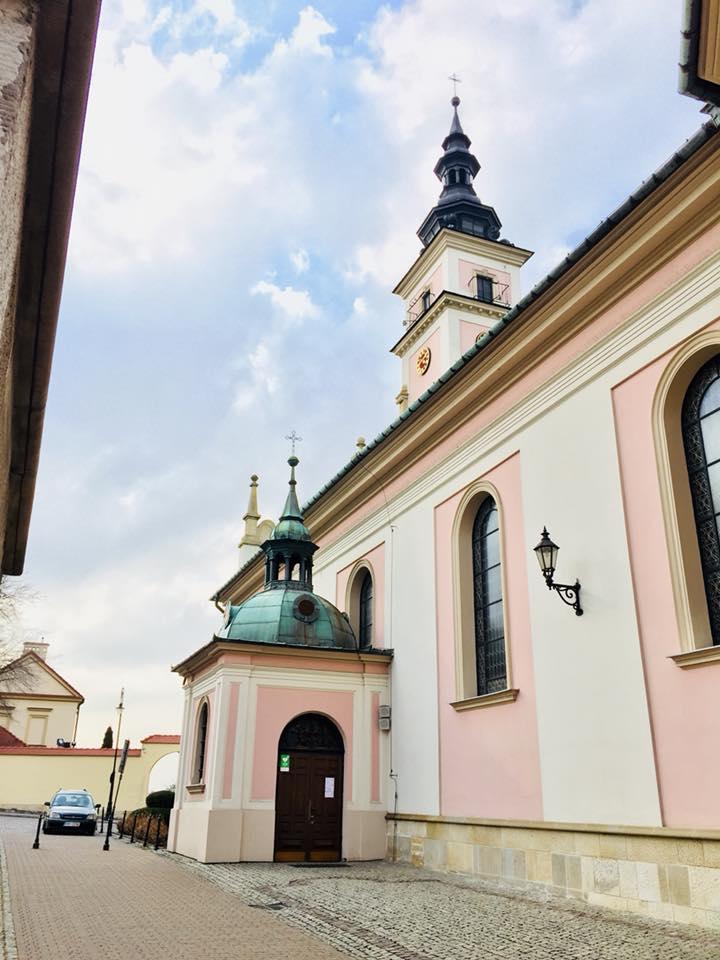 A monastery in Wieliczka