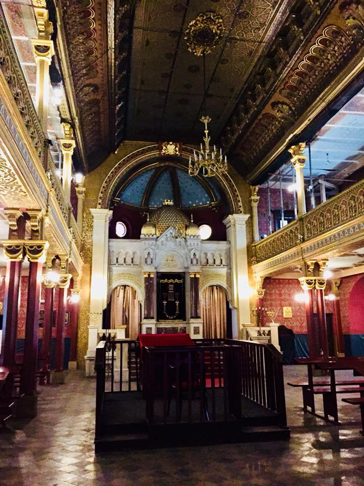 Inside Temple Synagogue
