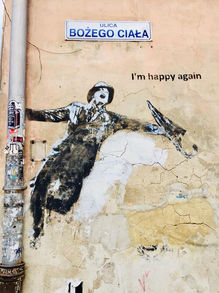 Kazimierz street art