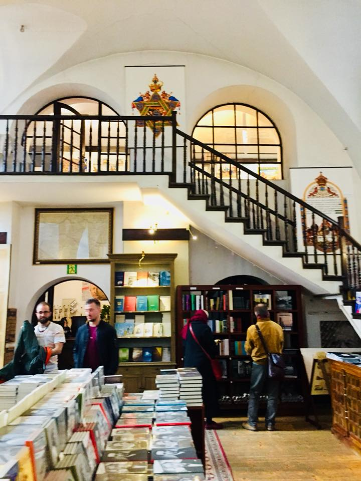 Bookstore in a Kazimierz synagogue