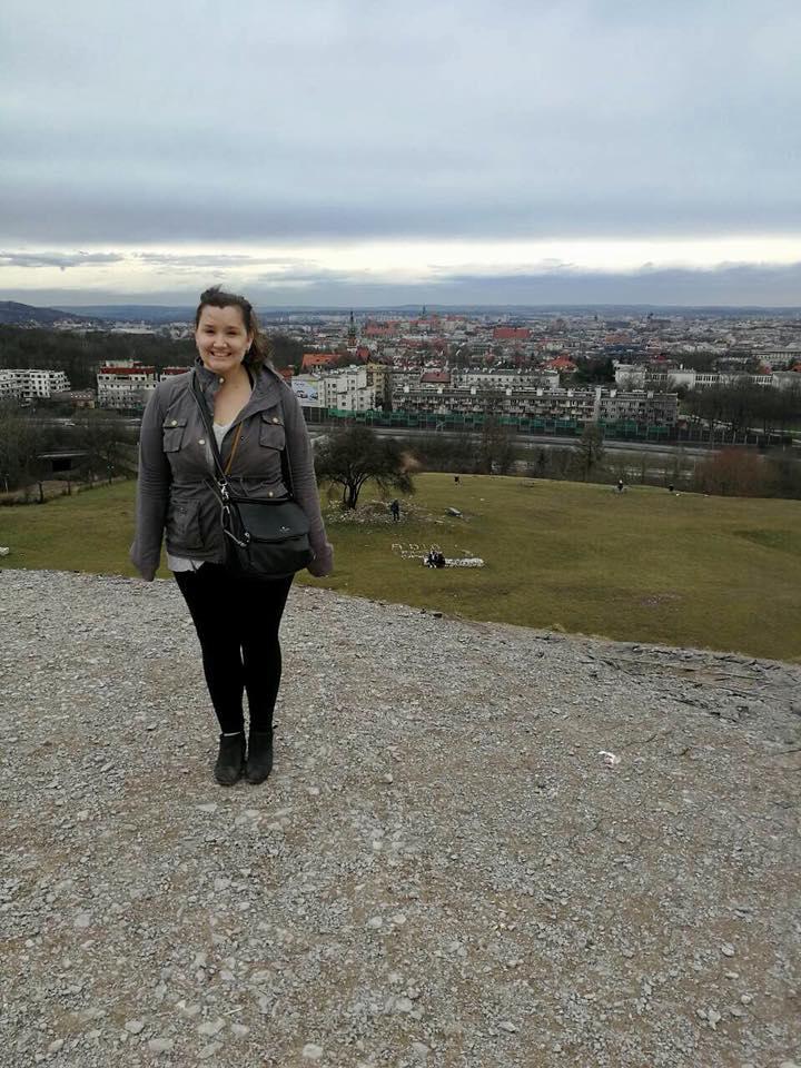 On top of Krakus Mound