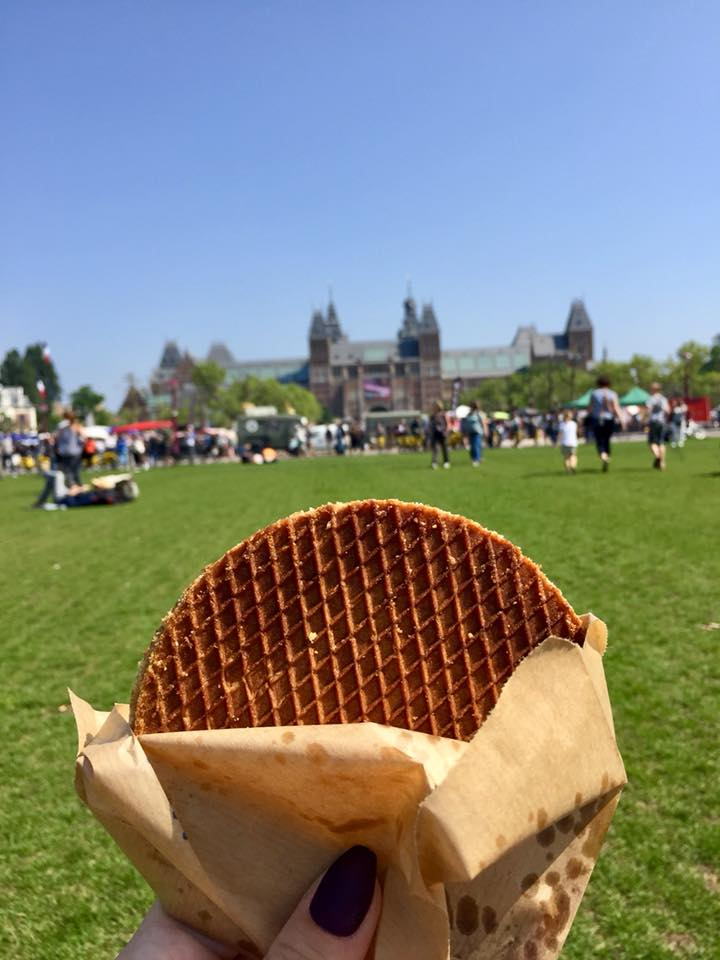 Hey look! Stroopwafel!