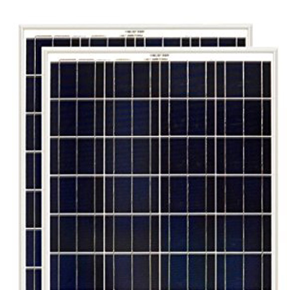 Solar - High efficiency solar cells with high module conversion efficiency and long term output reliability. Virtually maintenance free.Rigorous quality control to meet the highest international standards.High transmittance, low iron tempered glass with enhanced stiffness and impact resistance.Unique frame design with strong mechanical strength for up to 50 lbs/ft2 wind load and snow load withstanding and easy installation. Advanced encapsulation material with multilayer sheet lamination to provide long-life and enhanced cell performance. Outstanding electrical performance under high temperature and weak light environments. • Any off-grid solar power stations. Warranty • 5 year limited product warranty on materials and workmanship. • 25 year warranty on output