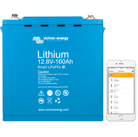 Victron LiFePo4 Batteries - ZENVANZ are equipped with only the industry leading LiFePo4 batteries. Do some research and you will see the benefits are immense: Longer lifespan/warranty, Less maintenance, They don't require regular full charges, Don't not need equalization, More usable capacity, High output, Faster charging, More efficient, Smaller size, Less weight, Temperature resistant, No offgassing, No voltage sag, etc...the list goes on and on. We honestly don't understand why some installers still cut corners and install AGM batteries in their vehicles.