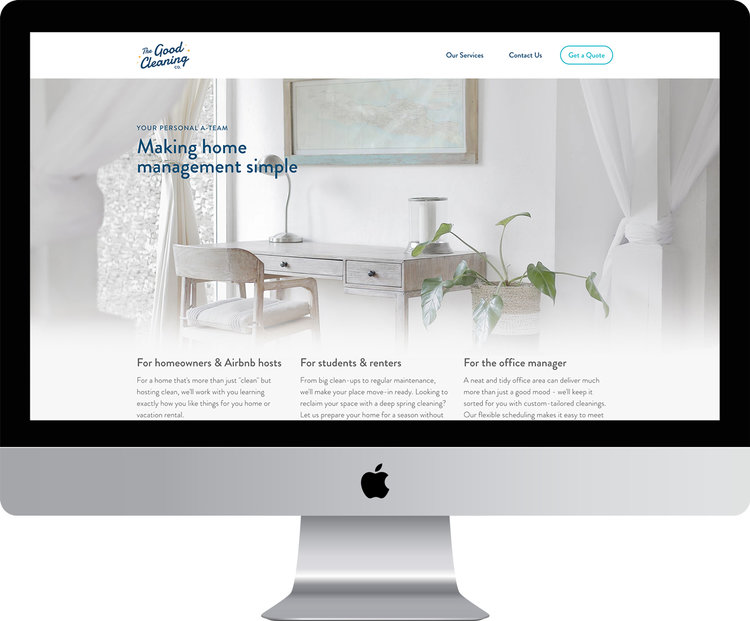 Studio Mojo Design Brand & Website Design Example 2