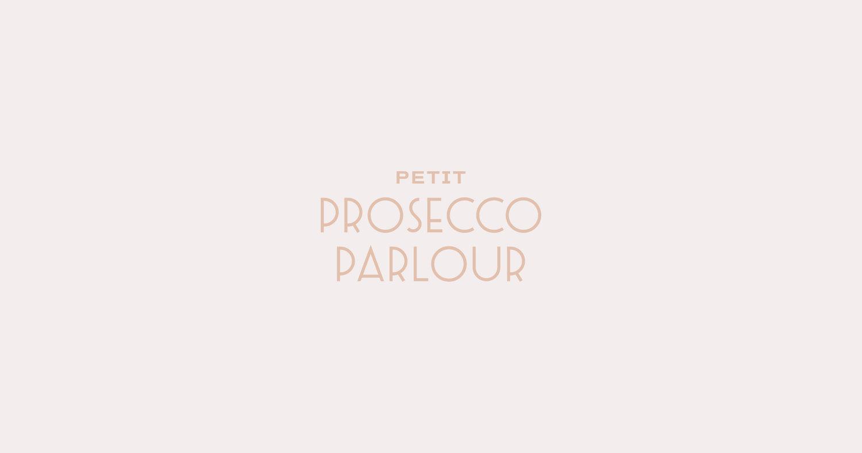 Petit Prosecco Parlour Logo Design