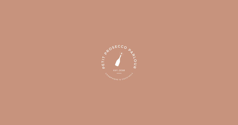 Petit Prosecco Parlour Secondary Logo Design