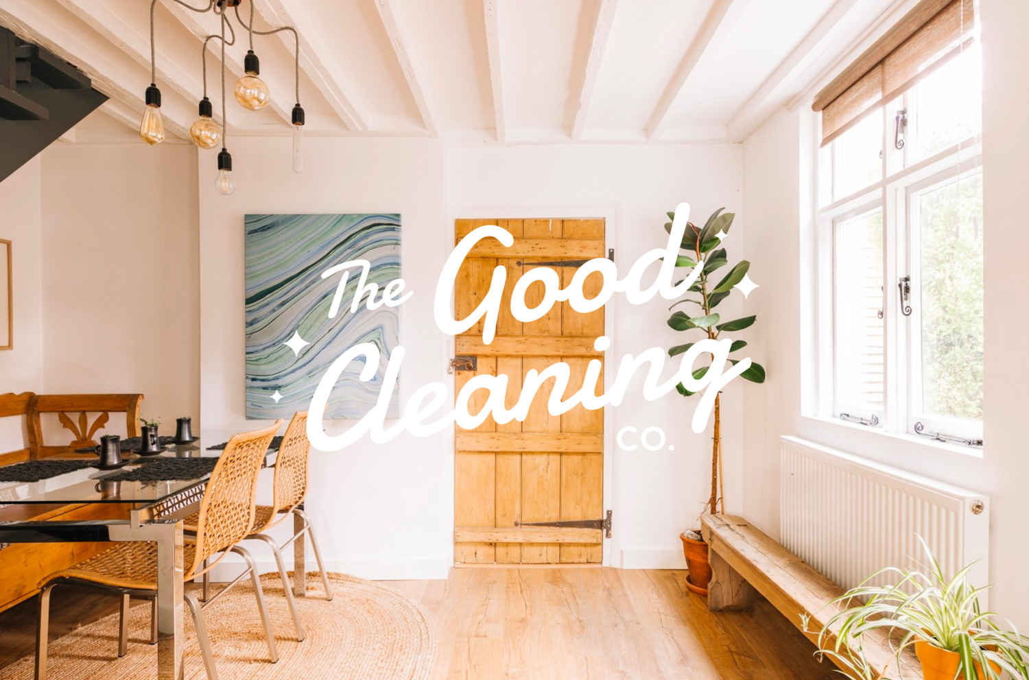 The Good Cleaning Company Logo Design