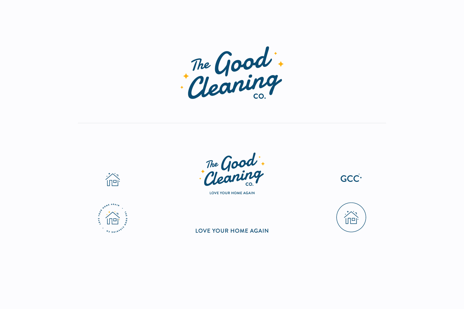 The Good Cleaning Company Brand Design